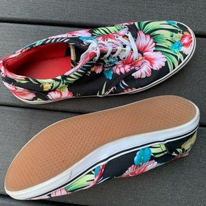 Authentic Hawaiian Floral Vans
